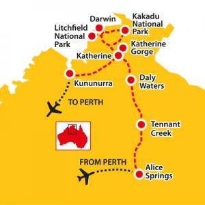 alice springs, tours of australia, seniors tours of australia, litchfield, kakadu, darwin, katherine gorge, daly waters