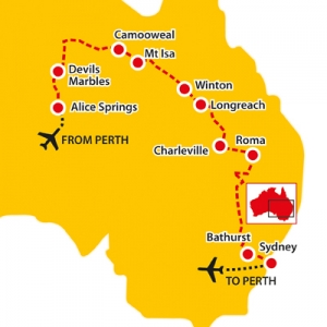 longreach, alice springs, camooweal, winton, devil's marbles, seniors tours of australia