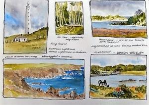 sketching tours, sketching tours of australia, art tour of western australia, sketching tour of western australia