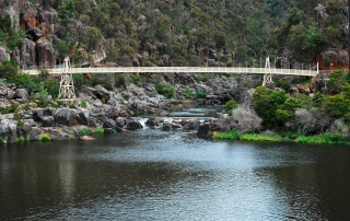 cataract gorge, tasmania, tours to tasmania, seniors tours tasmania, bruny island, tahune forest airwalk, port arthur, queenstown, strahan, launceston, hobart,