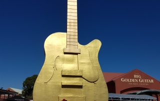 golden guitar, Tamworth, aussie redback tours, seniors tours australia, australian tours, new south wales tours, country music festival
