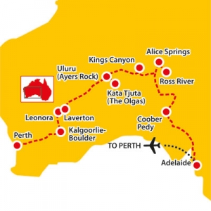 great central road, tours of the great central road, central australia tours
