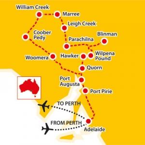 seniors tours of lake eyre, seniors tours australia, flinders ranges tour, flinders ranges for seniors