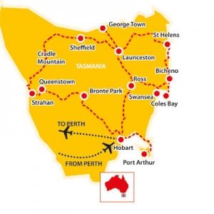 Tasmania the apple isle, tasmania, tours to tasmania, tasmania tours for seniors