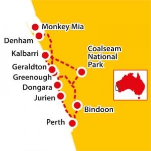 tours to kalbarri, tours to monkey mia, monkey mia tours, kalbarri tours